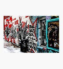 Graffiti Alley Toronto Photographic Print