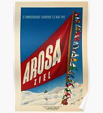Arosa, Schweiz Poster