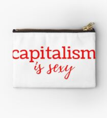 Capitalism is Sexy Zipper Pouch