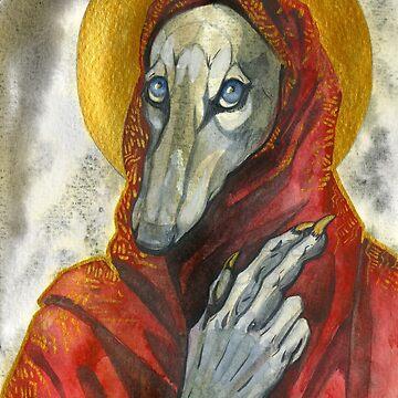 Silken Saint by LauraGarabedian