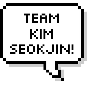 MUSIC BTS - Team Kim Seokjin ! by hslim