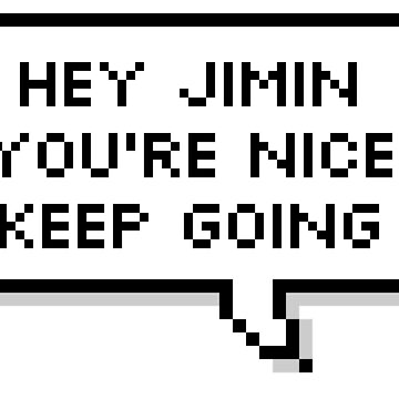 MUSIC BTS - Hey Jimin, you're nice keep going ! by hslim