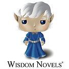 Wisdom Novels® Character Sticker by supabon