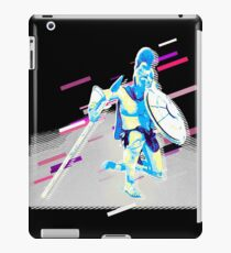 Soldier antique Eighties Retro Violet and Purple iPad-Hülle & Skin