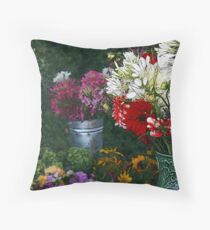 Mary's Pitcher Throw Pillow
