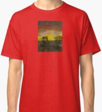 Sonneuntergang Steppe Classic T-Shirt