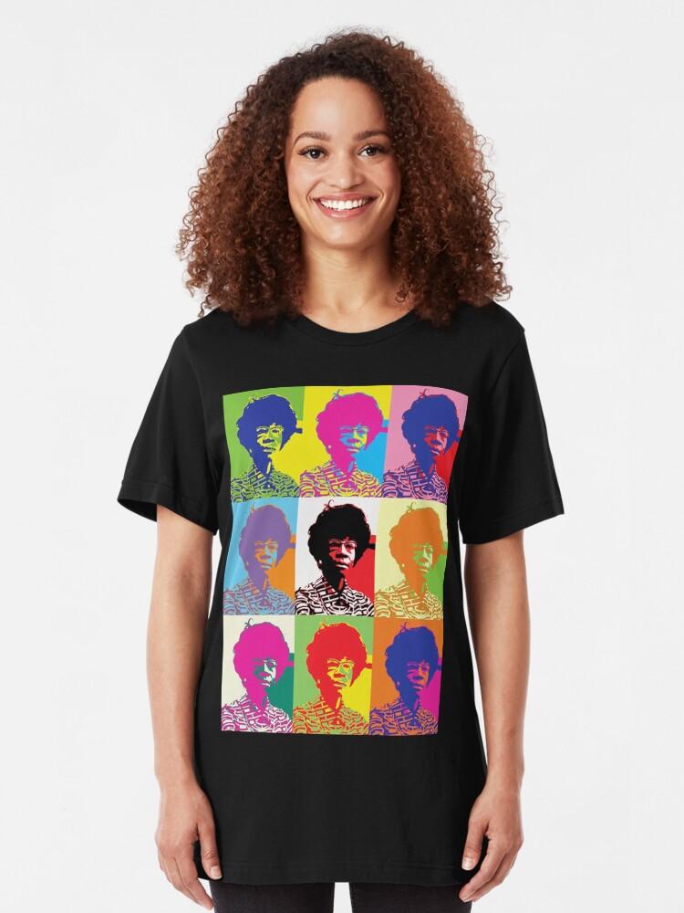 Alternate view of Shirley Chisholm Slim Fit T-Shirt