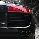 Audi R8 rear light by NrthLondonBoy