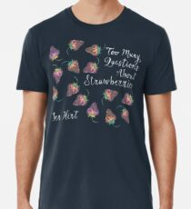 Too many questions about strawberries - cover art Premium T-Shirt