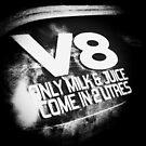 Petrolhead V8 slogan by NrthLondonBoy