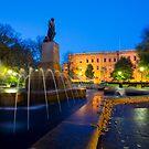 Franklin Square, Hobart, Tasmania by Chris Cobern