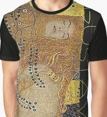 Portrait in Gold and Black ... by Gustav Klimt Graphic T-Shirt