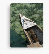 Carribean Water Canvas Print