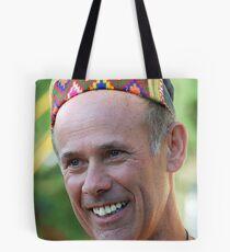 Laughing Men Tote Bag