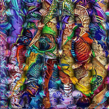 Lattice Abstract Fantasy by Delights