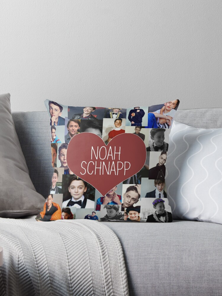 noah snap collage throw pillows by nikoiscreating redbubble