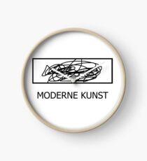 Moderne Kunst be like Clock