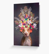 Puissance des fleurs, Frida Carte de vœux