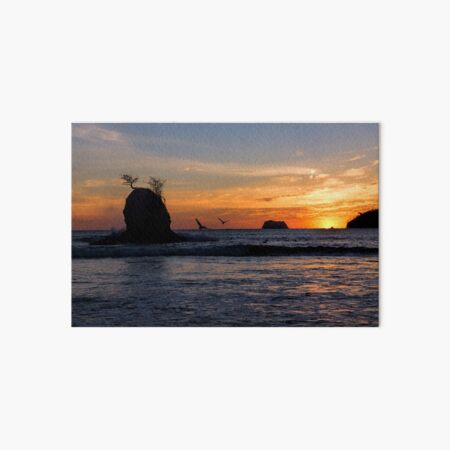 Carrillo Sunset Art Board Print