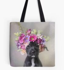 Flower Power, Joey Tote Bag