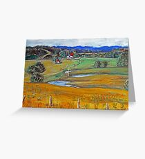 Country Idyll Greeting Card