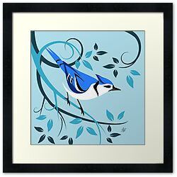 blue jay prints