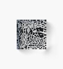 277 - THREE LITTLE BIRDS - DAVE EDWARDS - INK - 2018 Acrylic Block