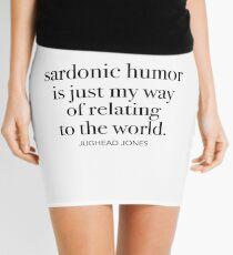 Jughead Jones-Sardonic Humor Mini Skirt