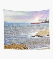 Sunset At The Beach - Tod's Point Art Print Wall Tapestry