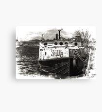 Fishing Vessel Shelly Canvas Print