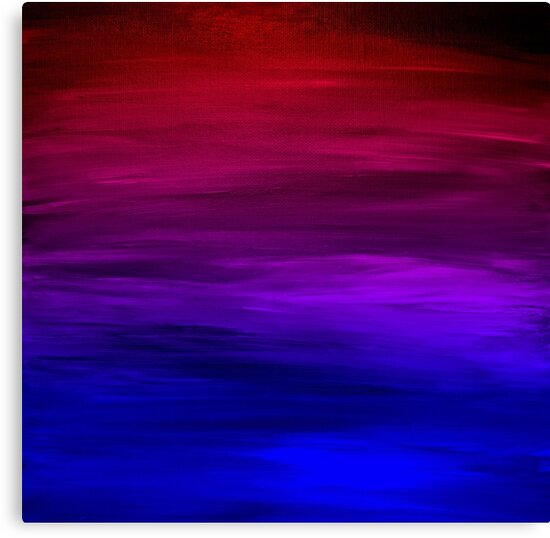 Quot Eternal Sunset Bold Colorful Ombre Abstract Acrylic