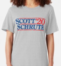 Michael Scott - Dwight Schrute 2020 Slim Fit T-Shirt