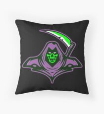 Death Is Knocking At The Door Floor Pillow