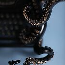 Close Up of Tentacle, Octopus Typewriter by octotypewriter