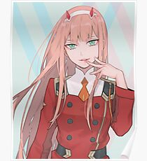 Zero Two (Darling in the franxx)  Poster