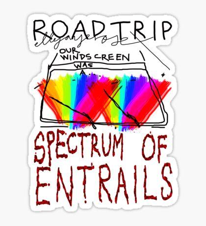Spectrum of Entrails Sticker
