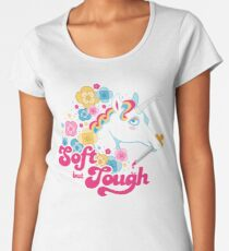 Doux mais dur T-shirt premium femme