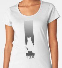 Tux Flag Dark Women's Premium T-Shirt