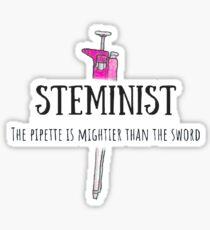 Steminist: Pipette > Sword Sticker