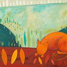 A Cat in the Bush by Jody  Pratt