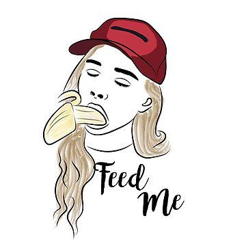 Feed ME - food - girl - suck - naughty by Mariokao