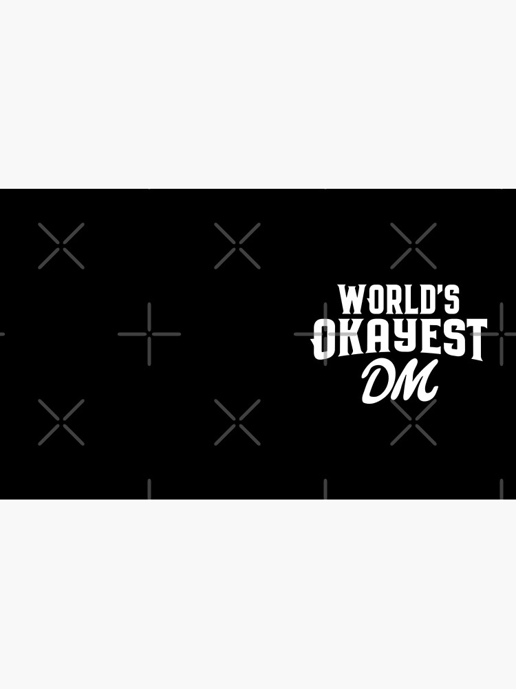 World's Okayest DM Tabletop RPG Addict by pixeptional