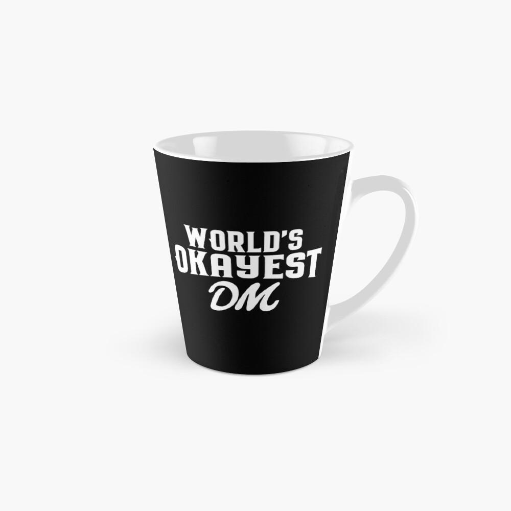 World's Okayest DM Tabletop RPG Addict Mug