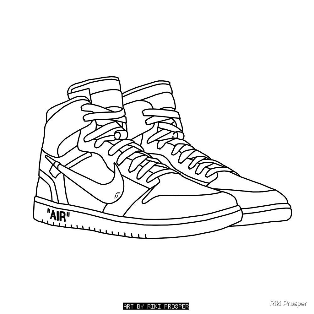 Nike Off-White Jordans by Riki Prosper