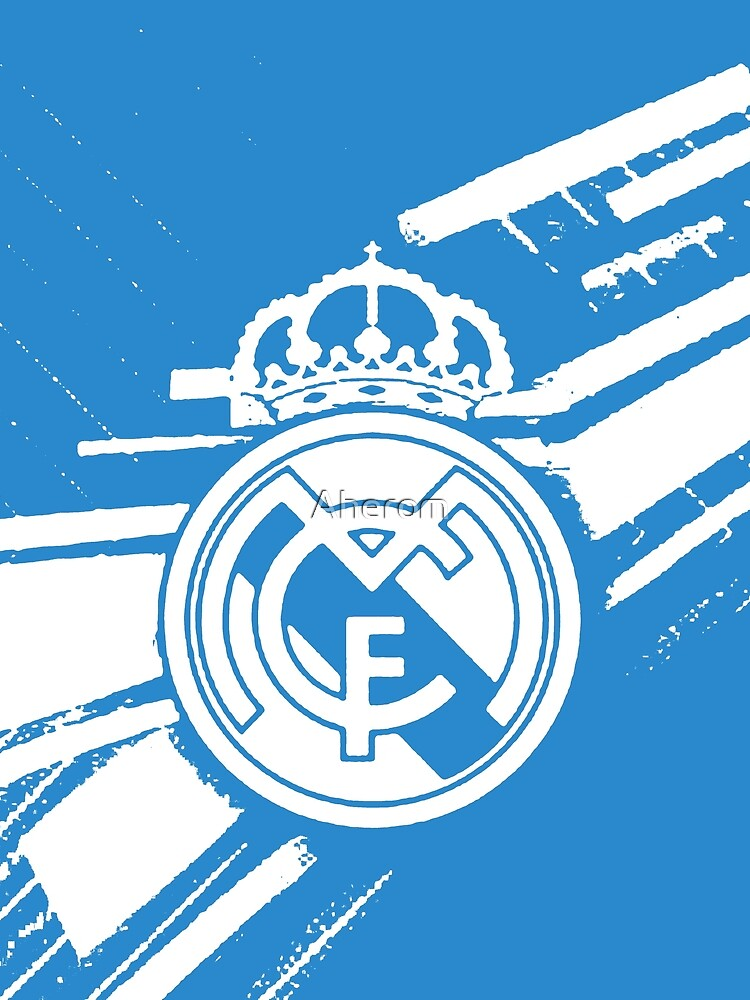 Real Madrid Blue by Aherom