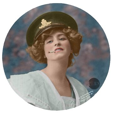 Gabrielle Ray, 1905 - Colorized  by Laurynsworld