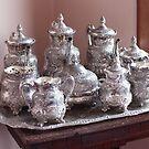 Silver Tea Set by Martha Burns