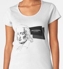 PEOPLE Es ist nichts so klein und wenig, woran man sich nicht begeistern könnte Friedrich #hoelderlin Hölderlin Frauen Premium T-Shirts