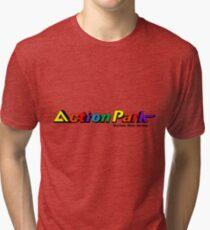 Action Park (Traction Park) - Vernon, New Jersey Tri-blend T-Shirt
