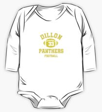 Dillon Panthers Football One Piece - Long Sleeve